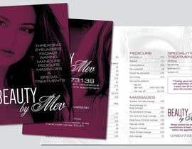 Nro 28 kilpailuun Design a Flyer for beauty services for women käyttäjältä DaveWL