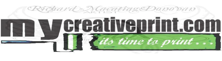Contest Entry #150 for Logo Design for mycreativeprint.com