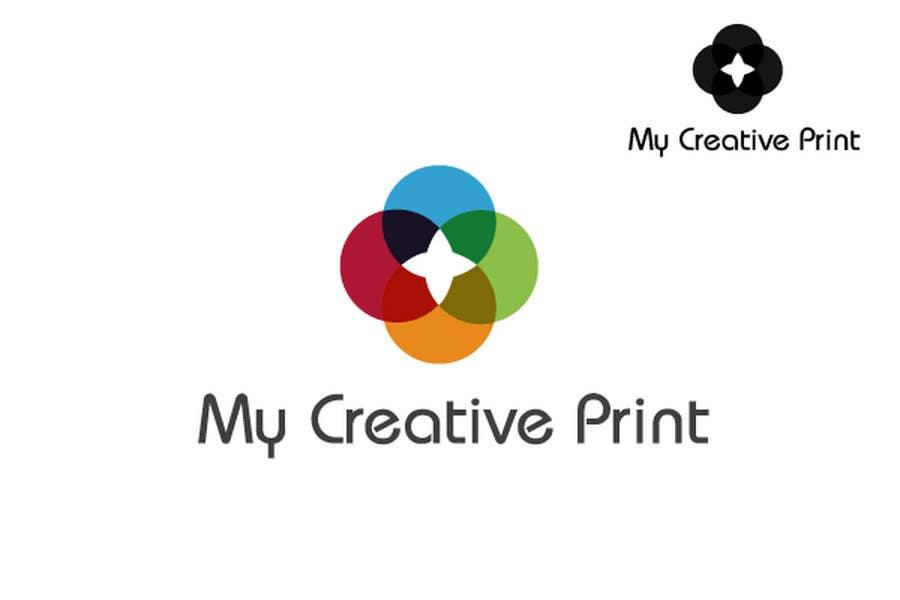 Konkurransebidrag #143 i Logo Design for mycreativeprint.com