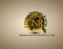 #10 para Design a Logo for Canadian Numismatic Rarities (CNR) por manuel0827