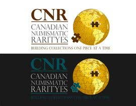 #23 para Design a Logo for Canadian Numismatic Rarities (CNR) por advway