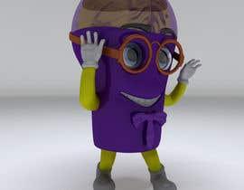 Nro 13 kilpailuun Design a 3d cartoon character with many different postures. käyttäjältä djclupper