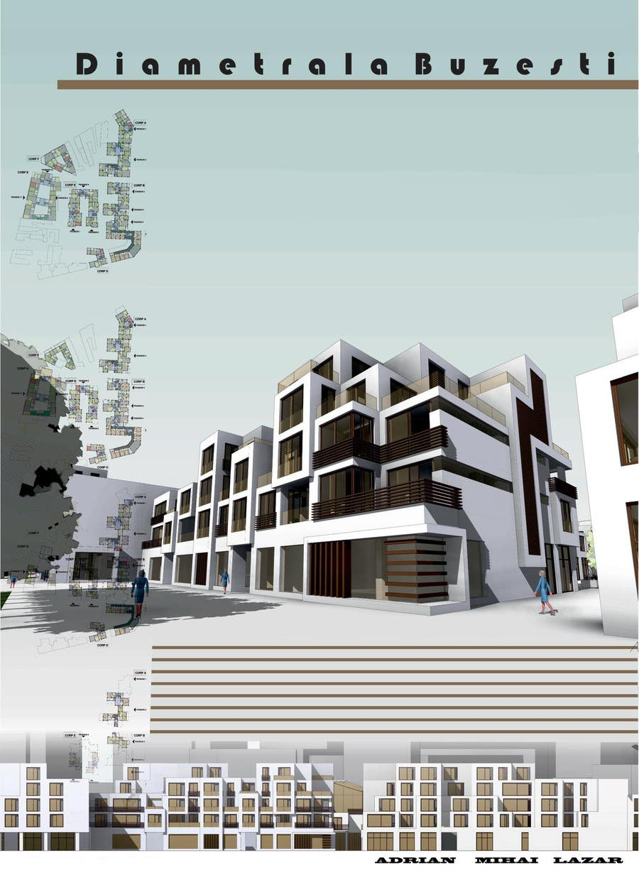 Proposition n°9 du concours Do some 3D Modelling for commercial building
