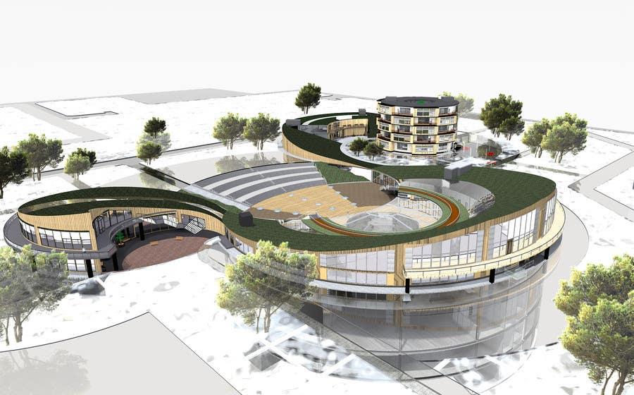 Proposition n°10 du concours Do some 3D Modelling for commercial building