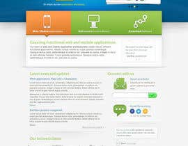 #8 untuk Website Design for Trin-iT Software Solutions oleh andrewnickell