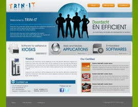 nº 31 pour Website Design for Trin-iT Software Solutions par dreamsweb
