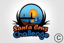 Contest Entry #96 for Illustration Surfer Sunset Santa Cruz Dog LOGO contest