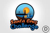 Contest Entry #97 for Illustration Surfer Sunset Santa Cruz Dog LOGO contest