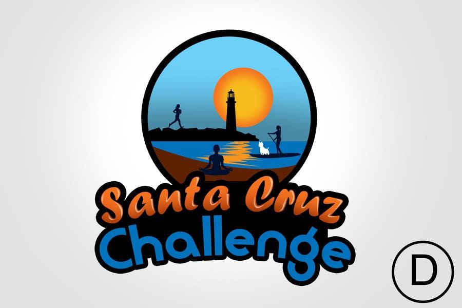#97 for Illustration Surfer Sunset Santa Cruz Dog LOGO contest by rogeliobello