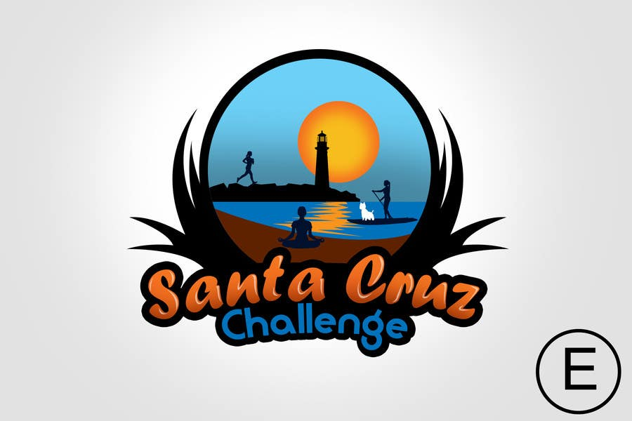 #98 for Illustration Surfer Sunset Santa Cruz Dog LOGO contest by rogeliobello