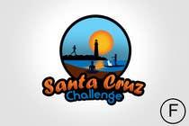 Contest Entry #99 for Illustration Surfer Sunset Santa Cruz Dog LOGO contest