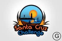 Contest Entry #117 for Illustration Surfer Sunset Santa Cruz Dog LOGO contest