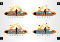 Contest Entry #111 for Illustration Surfer Sunset Santa Cruz Dog LOGO contest