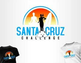 nº 115 pour Illustration Surfer Sunset Santa Cruz Dog LOGO contest par eremFM4v