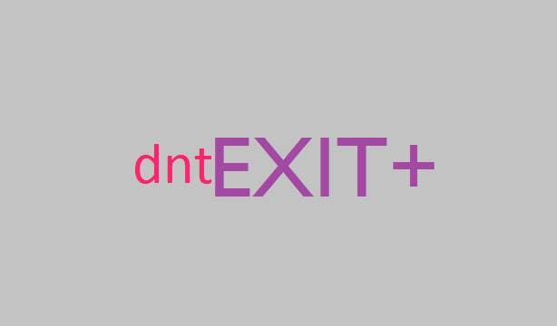Kilpailutyö #                                        141                                      kilpailussa                                         Logo Design for dntexit or dnexit.com is a photo-entertainment website