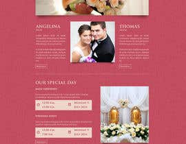 vivekdaneapen tarafından Design for wedding website için no 13