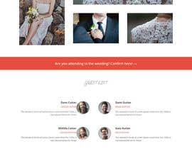ericktavarez tarafından Design for wedding website için no 7