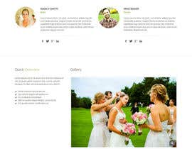 uttamcafedeweb tarafından Design for wedding website için no 2