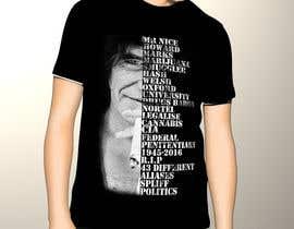 Nro 16 kilpailuun Illustrate Typography portrait for t-shirt käyttäjältä mdibetso