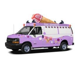Nro 9 kilpailuun Ice cream van design käyttäjältä Bacvu