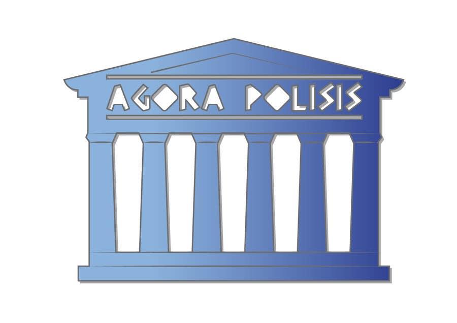 #17 for Design a Logo for the name agorapolisis by SerenityBlue1