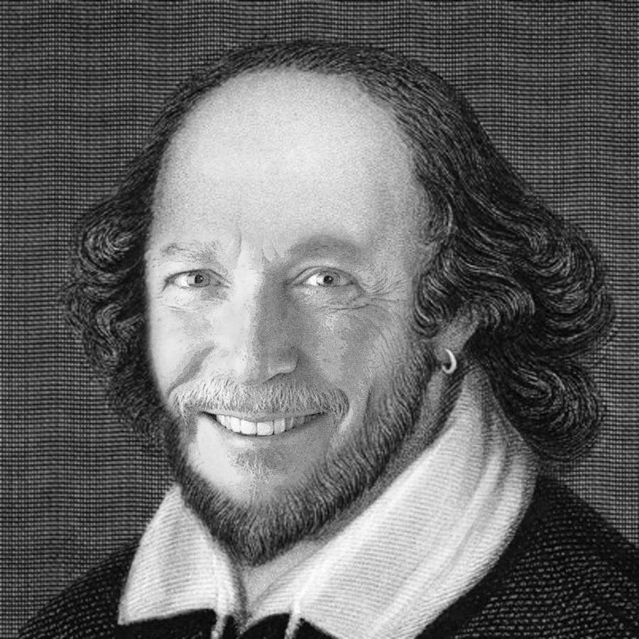 Penyertaan Peraduan #                                        13                                      untuk                                         Make my boss look like William Shakespeare