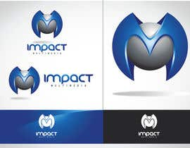 nº 5 pour Logo Design for Impact Multimedia par kinara15