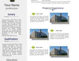 Nro 21 kilpailuun Graphic Design for Resume Template käyttäjältä jhosser