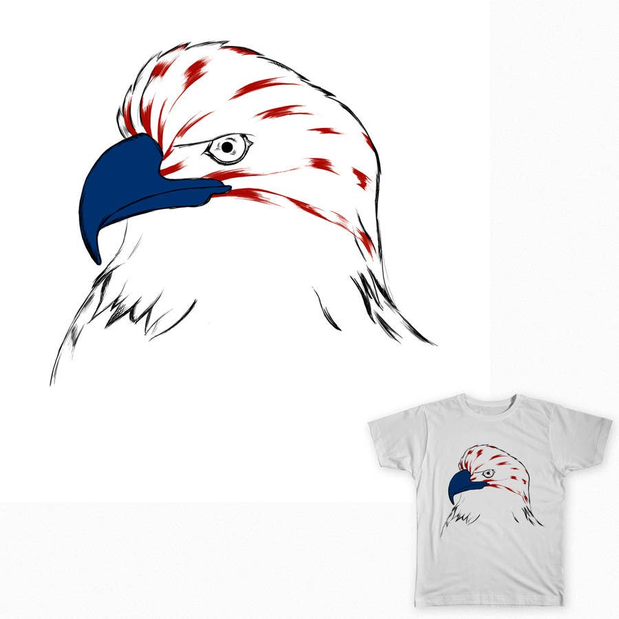 #2 for Patriotic t-shirt USA theme design by maximo20858