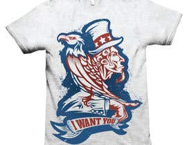 #6 for Patriotic t-shirt USA theme design by lemonpanda