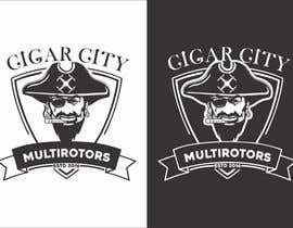 """Nro 23 kilpailuun LOGO DESIGN FOR """"CIGAR CITY MULTIROTORS"""" käyttäjältä edso0007"""