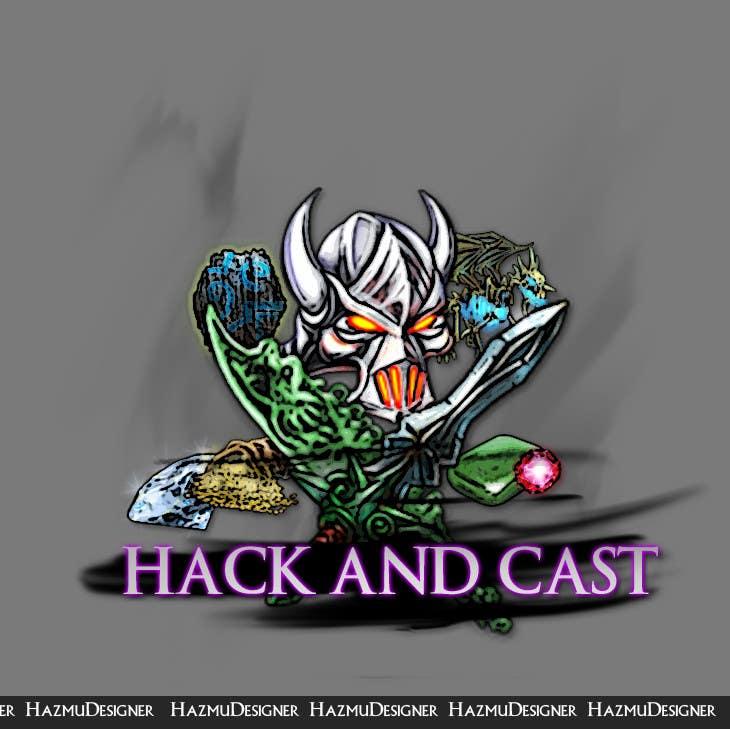 Inscrição nº                                         5                                      do Concurso para                                         Design a Logo for Video Game: Hack and Cast