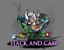 #5 untuk Design a Logo for Video Game: Hack and Cast oleh HazmuDesigner