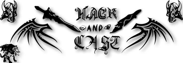 Inscrição nº                                         9                                      do Concurso para                                         Design a Logo for Video Game: Hack and Cast