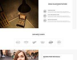 MarkJaya tarafından Design site template, home page, and product page for live escape room business için no 4