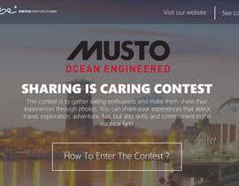 Nro 2 kilpailuun Design a Landing Page for an online Contest käyttäjältä edisontoh