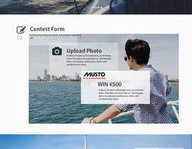 Nro 3 kilpailuun Design a Landing Page for an online Contest käyttäjältä hudha09