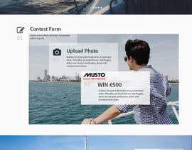 Nro 14 kilpailuun Design a Landing Page for an online Contest käyttäjältä hudha09
