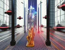 eldesoki tarafından Render statue in futuristic environment için no 47