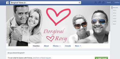 #22 for Design a Facebook Cover for a Couple with photos by ahmedzaghloul89