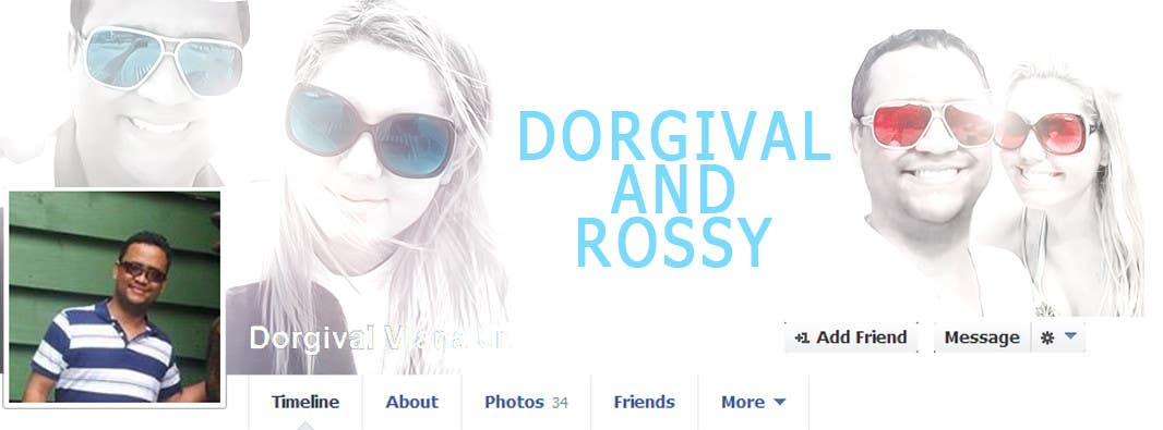 #55 for Design a Facebook Cover for a Couple with photos by vishnuremesh