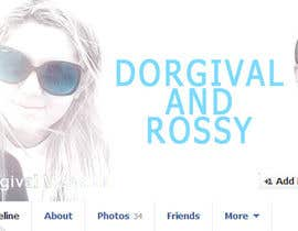 vishnuremesh tarafından Design a Facebook Cover for a Couple with photos için no 55