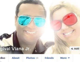 vishnuremesh tarafından Design a Facebook Cover for a Couple with photos için no 67
