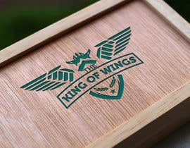 #41 for Logo Design (The King of Wings) by Mustafawadiwala