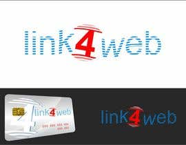 nº 56 pour Design a Logo for Link4Web website par airbrusheskid