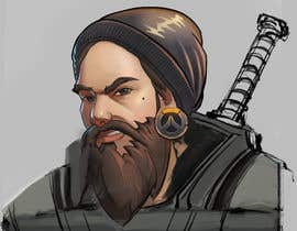 Nro 14 kilpailuun Illustrate my face as an Overwatch character käyttäjältä quyenmetal