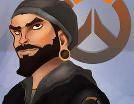 Nro 6 kilpailuun Illustrate my face as an Overwatch character käyttäjältä jorzsitse