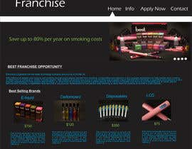 #25 para One page website design for franchise por ArtCulturZ