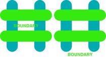 """Contest Entry #10 for Design a Logo for a website/ app """"Boundary"""""""