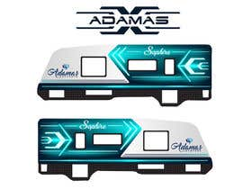 Nro 87 kilpailuun Graphic Design for RV Decals käyttäjältä cvijayanand2009
